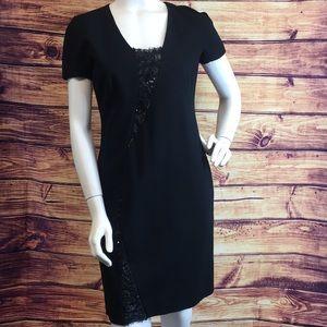 Emilio Pucci Black Short Sleeve Dress